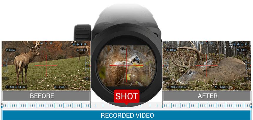 ATN X-SIGHT 4K PRO 3-14x新款日夜两用智能数码瞄准镜